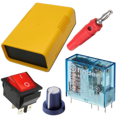 Bauteile, Stromversorgung, Messtechnik