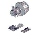 PE Teile mit Strom / Kabel