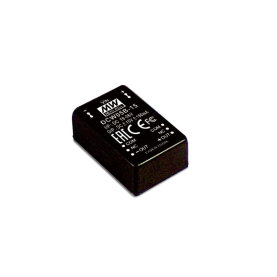 MEAN WELL DCW05A-5 DC/DC Wandler, 9-18V:+/-5V, 500mA, 5W