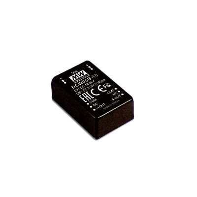 MEAN WELL DCW05B-15 DC/DC Wandler, 18-36V zu +/-15V,...