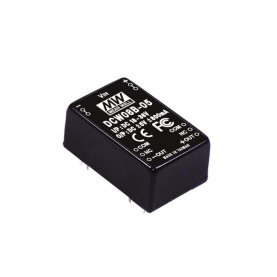 MEAN WELL DCW08A-15 DC/DC Wandler, 9-18V zu +/-15V,...