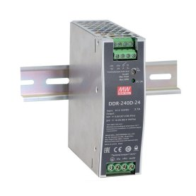 MEAN WELL DDR-240D-24 DC/DC Wandler, DIN-Schiene,...