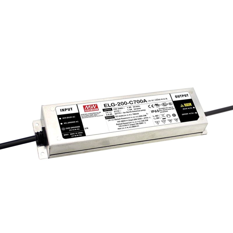 MEAN WELL ELG-200-C1750B-3Y LED-Treiber, IP67, 199,5W, 57-114V, 1750mA, CC, dimm