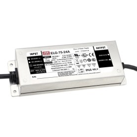 MEAN WELL ELG-75-24AB-3Y LED-Treiber, IP65, 75,6W, 24V,...