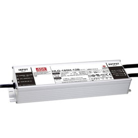 MEAN WELL HLG-185H-12 LED-Treiber, IP67, 156W, 12V, 13A,...