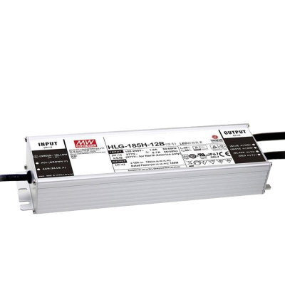 MEAN WELL HLG-185H-20A LED-Treiber, IP65, 186W, 20V,...