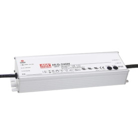 MEAN WELL HLG-240H-12B LED-Treiber, IP67, 192W, 12V, 16A,...