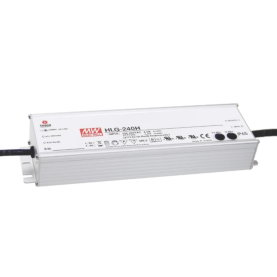 MEAN WELL HLG-240H-24A, LED-Treiber, IP65, 240W, 24V,...
