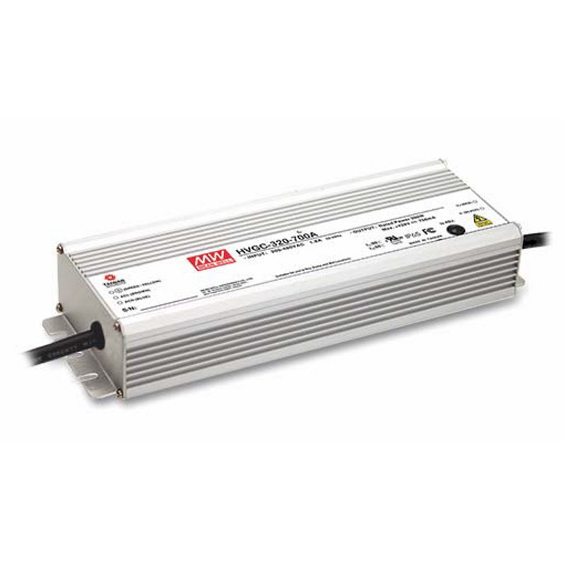 MEAN WELL HVGC-320-700AB LED-Treiber, IP65, 300W, 428V, 700mA, CC