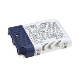 Mean Well LCM-60 LED-Treiber, 60W, 500/600/700/900/1050/1400mA, 3in1 dimmbar