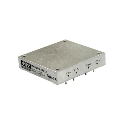 MEAN WELL MHB100-48S05 DC/DC Wandler, 36-75V:5V, 20A 100W