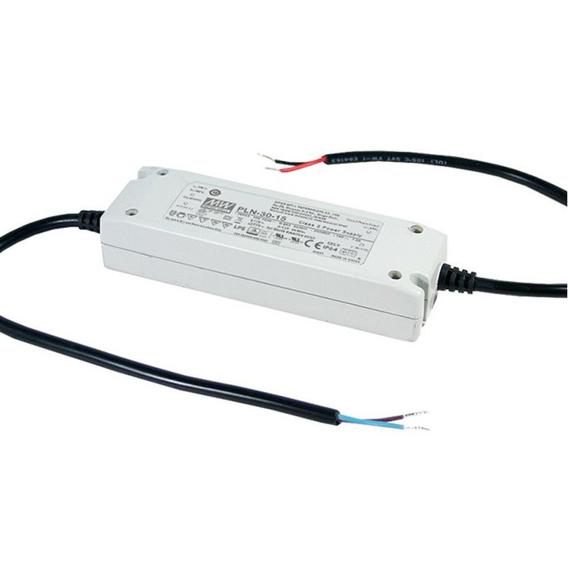 MEAN WELL PLN-30-36 LED-Treiber, 30W, 36V, 0,84A, CV+CC