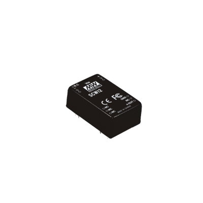 MEAN WELL SCW12C-15 DC/DC Wandler, 36-72V zu +15V, 800mA,...