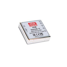 MEAN WELL SKA40A-12 DC/DC Wandler, 9-18V:12V, 3,33A, 40W