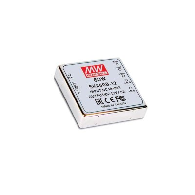 MEAN WELL SKA60A-12 DC/DC Wandler, 9-18V:12V, 5A, 60W