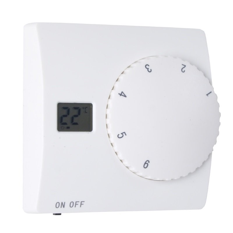 aufputz thermostat f r fussbodenheizung mit bodensensor. Black Bedroom Furniture Sets. Home Design Ideas