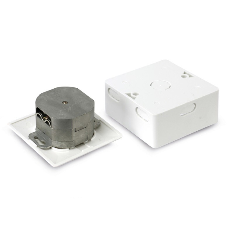 CAT.6 RJ45-Datendose, AP/UP, weiß