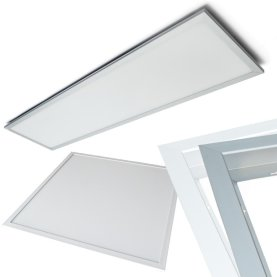 LED-Panel, 30x30cm/62x62cm/120x30cm, 230V, GS zertifiziert