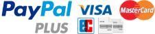 PayPal Plus - bezahlen mit PayPal, Lastschrift, Kreditkarte oder auf Rechnung.